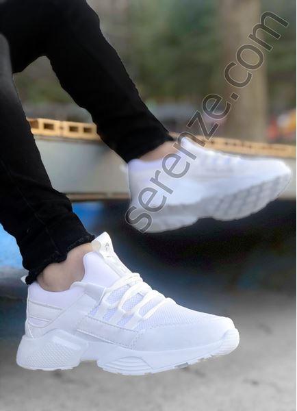 Beyaz File AirPro Erkek Spor Ayakkabı