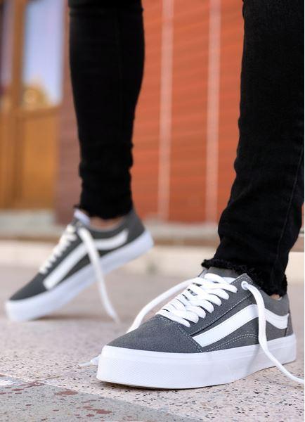 Gri Erkek Spor Ayakkabı