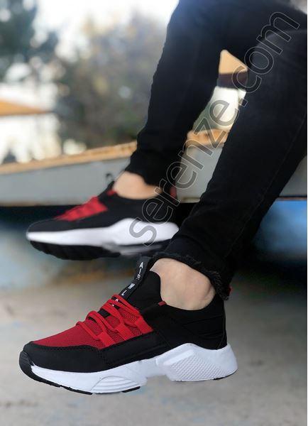 Kırmızı File AirPro Erkek Spor Ayakkabı