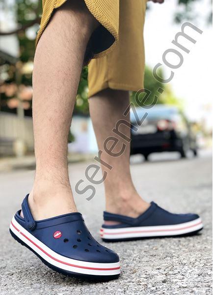 Lacivert Eva Ultra Hafif Sandalet Terlik (plastik değildir %100 Eva)