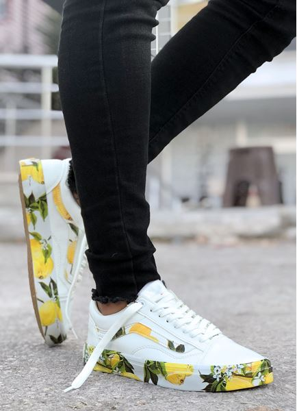 Limon Taban Tasarım Erkek Spor Ayakkabı