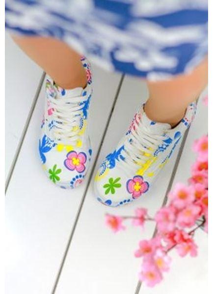 Renkli Desen Ayakkabı