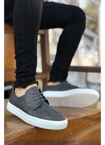 Serenze Caen Füme Bağcıklı Spor Erkek Klasik Ayakkabı