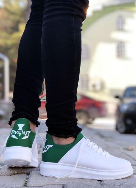 Serenze Yeşil Beyaz Erkek Spor Ayakkabı