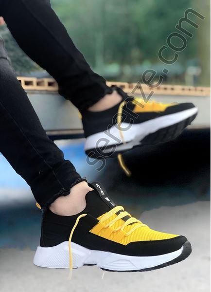 Sarı File AirPro Erkek Spor Ayakkabı