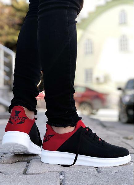 Serenze Kırmızı Siyah Erkek Spor Ayakkabı
