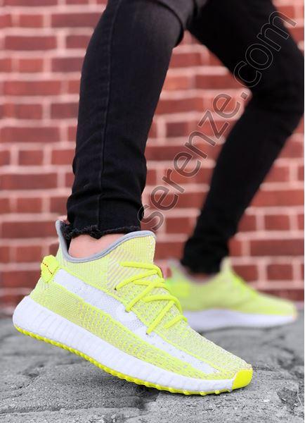 Neon Örme Erkek Spor Ayakkabı