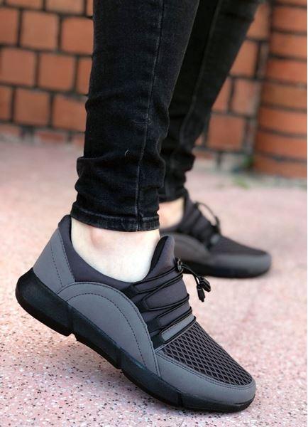 Füme Triko Hafif Erkek Spor Ayakkabı