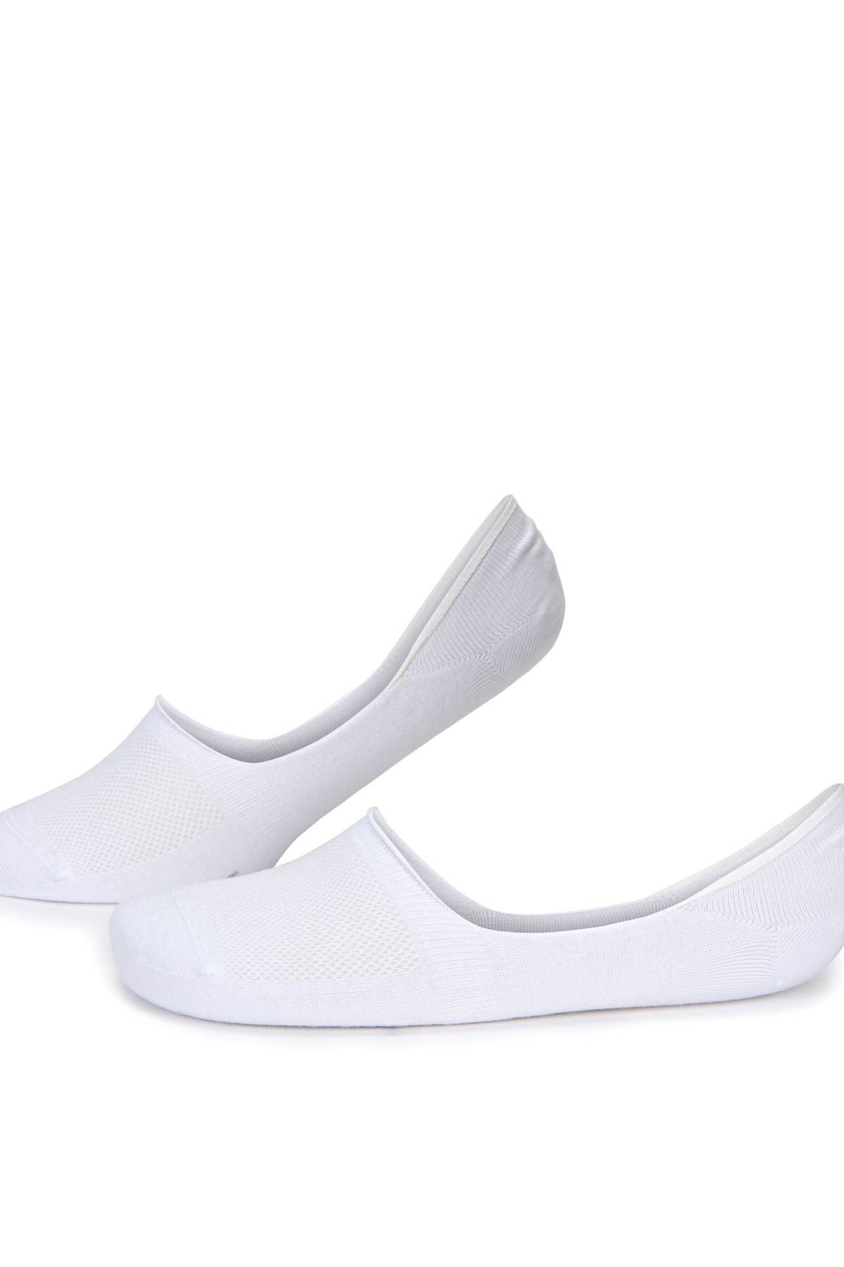 3 Adet Beyaz Erkek Babet Çorap (40-44)