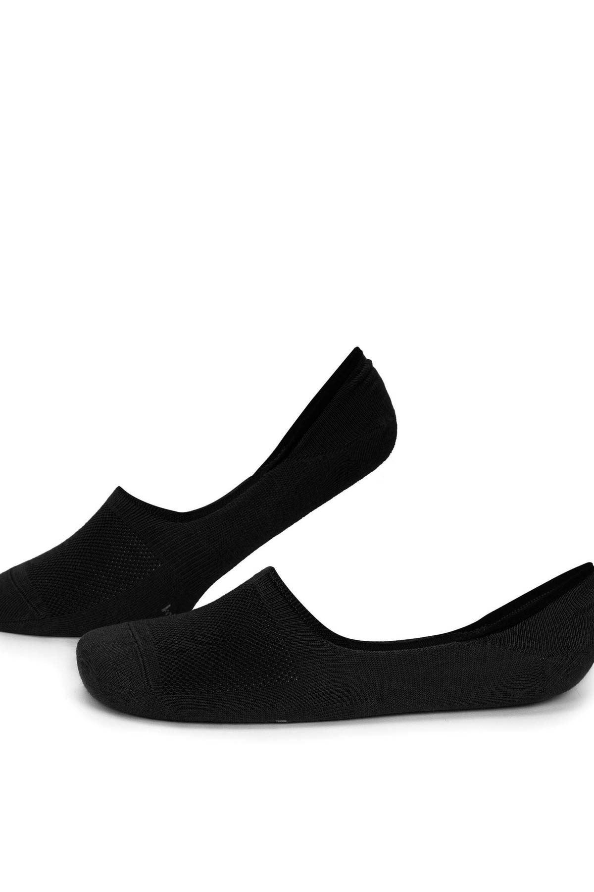 5 Adet Siyah Erkek Babet Çorap (40-44)