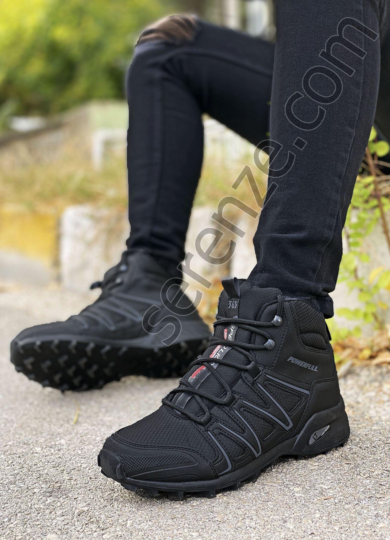 Siyah Outdoor Trekking Erkek Bot