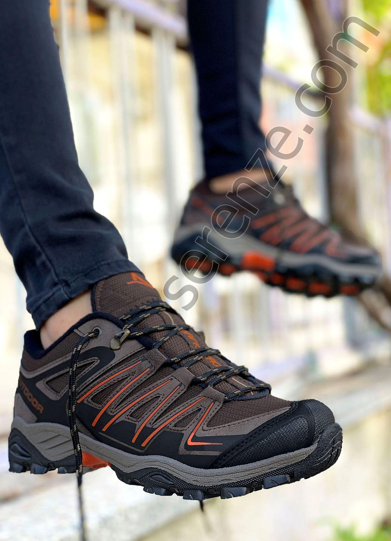 Kahve HardDuty Erkek Trekking Ayakkabı