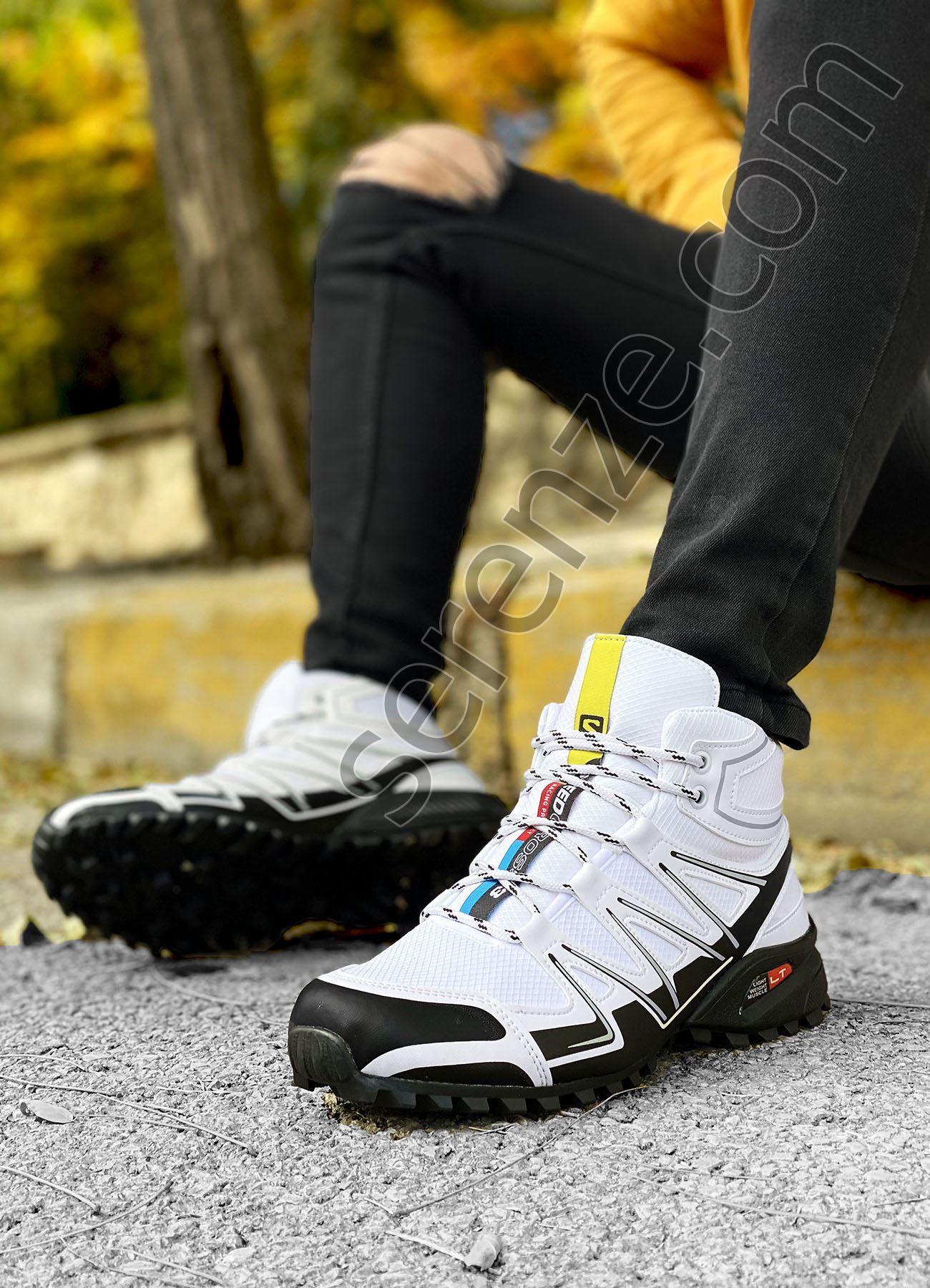 Beyaz Outdoor Trekking Erkek Bot
