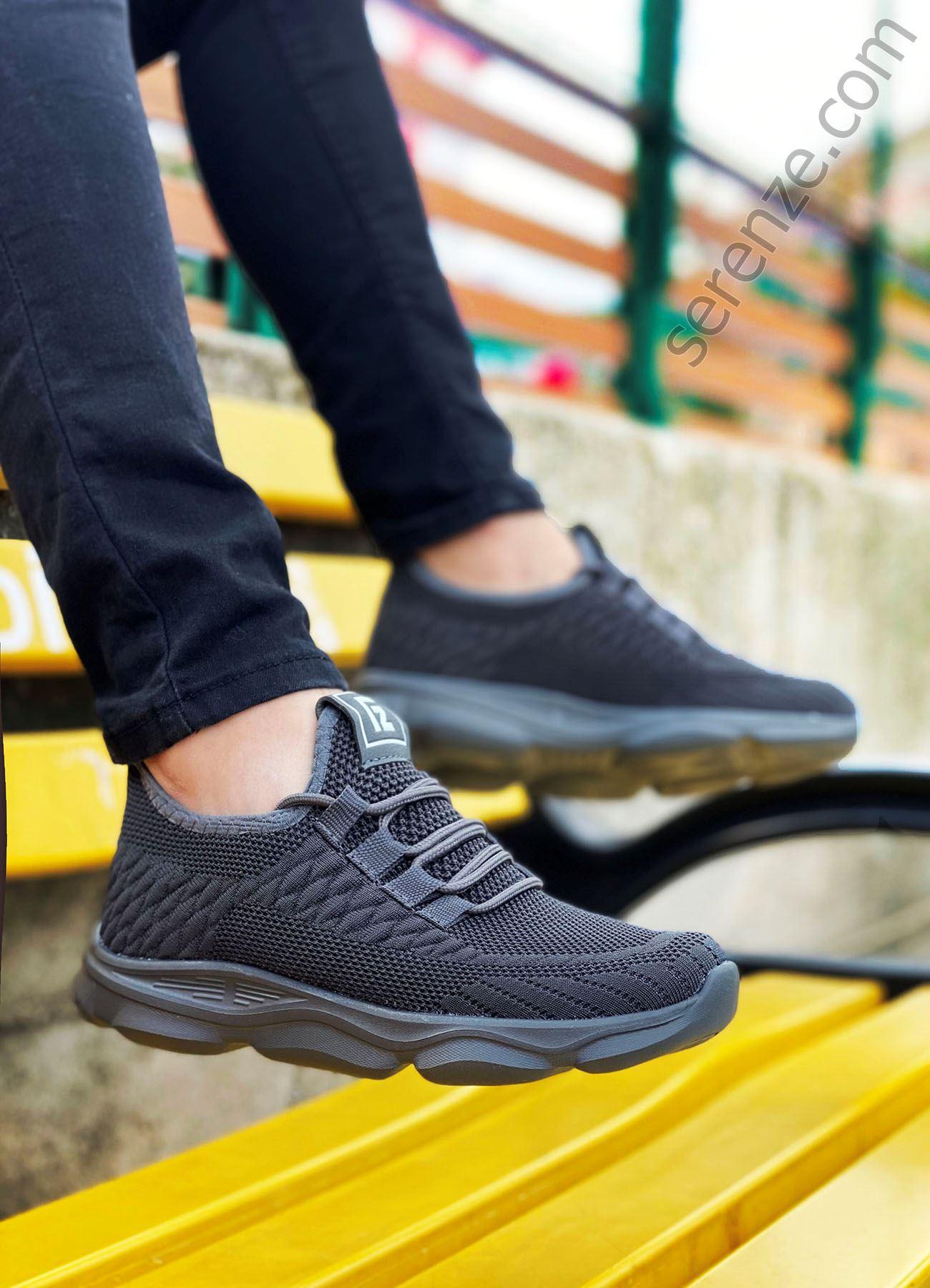Füme Triko Erkek Spor Ayakkabı