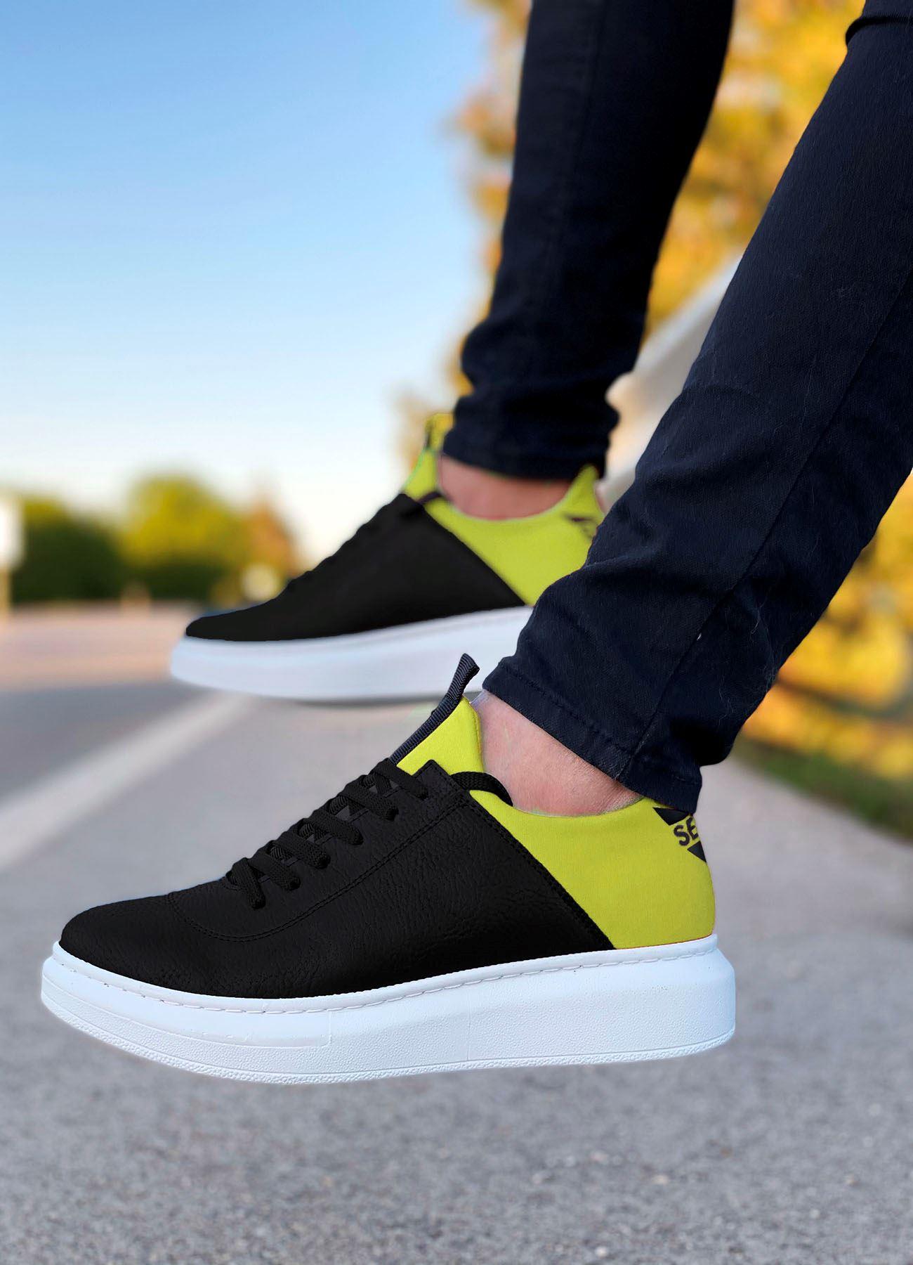 Serenze Sarı Siyah Erkek Spor Ayakkabı