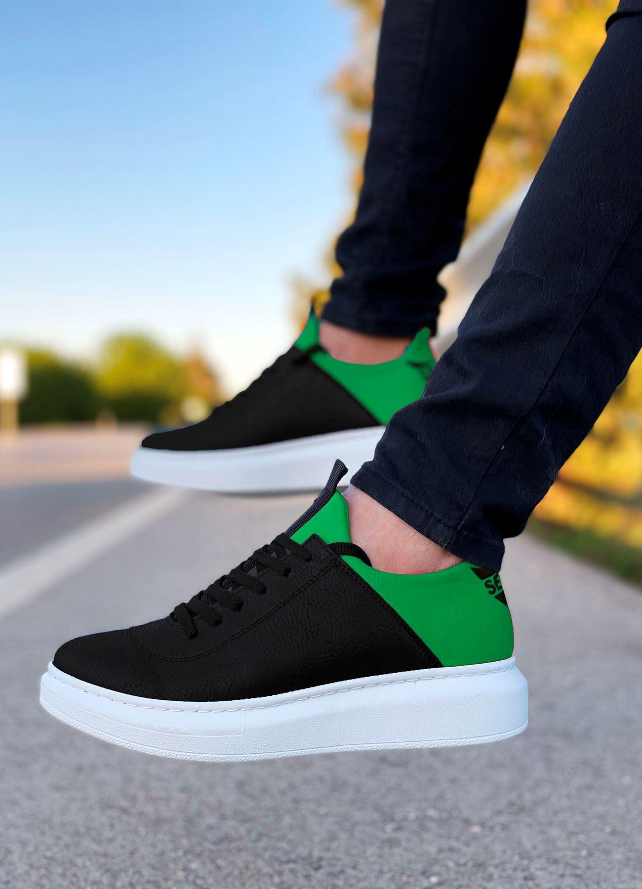 Serenze Yeşil Siyah Erkek Spor Ayakkabı
