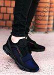 Fileli Mavi Erkek Spor Ayakkabı