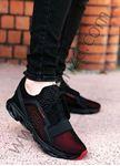 Fileli Bordo Erkek Spor Ayakkabı