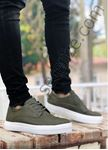 Haki Delikli Klasik Tarz Erkek Günlük Ayakkabı