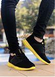 Sarı Siyah Air File Erkek Spor Ayakkabı