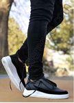 Siyah Pencereli Erkek Spor Ayakkabı