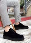 Siyah Süet Erkek Klasik Ayakkabı