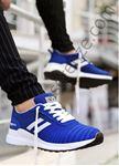 Mavi Çizgili Erkek Spor Ayakkabı
