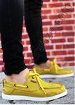 Sarı Keten Erkek Spor Ayakkabı