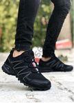 Siyah Yazlık Trekking Erkek Spor Ayakkabı