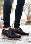Bağcıklı Siyah Erkek Klasik Ayakkabı