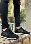 Siyah Füme Çizgi Detay Erkek Spor Ayakkabı