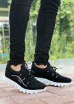 Siyah Triko Hafif Erkek Spor Ayakkabı