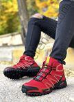 Kırmızı Outdoor Trekking Erkek Bot