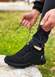 Siyah Süper Strong Trekking Erkek Ayakkabı