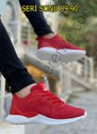 Kırmızı Triko Rahat Erkek Spor Ayakkabı
