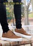 Taba Delikli Klasik Tarz Erkek Günlük Ayakkabı
