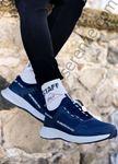 Lacivert Yazı Detay Erkek Spor Ayakkabı