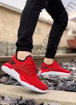 Kırmızı Triko Erkek Spor Ayakkabı