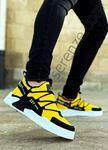 Sarı Triko Erkek Spor Ayakkabı