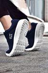 Lacivert Ultra Hafif Erkek Spor Ayakkabı